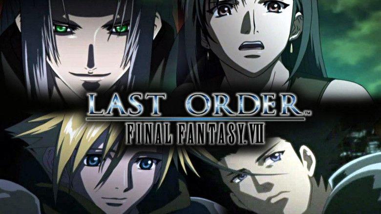 Last Order: Final Fantasy VII movie scenes