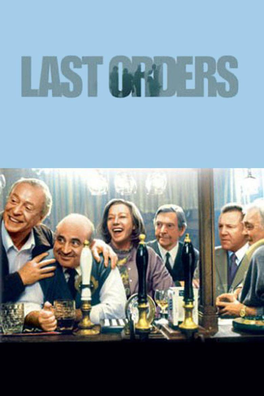 Last Orders (film) movie poster