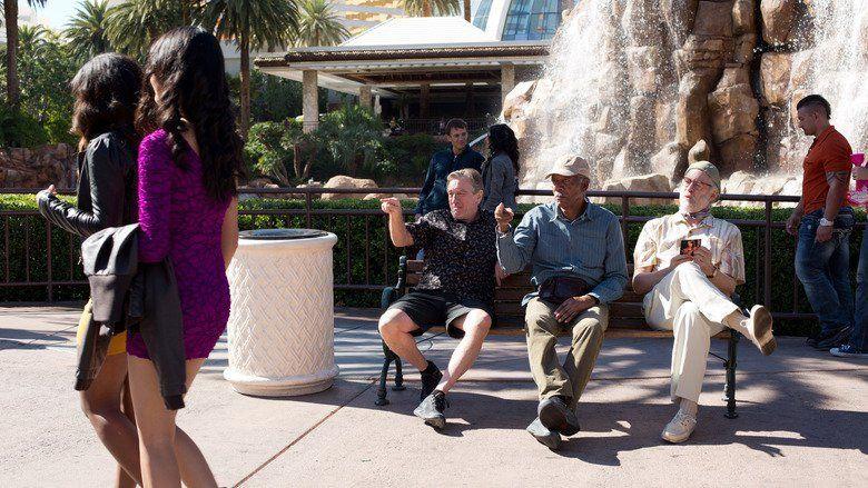 Last Vegas movie scenes