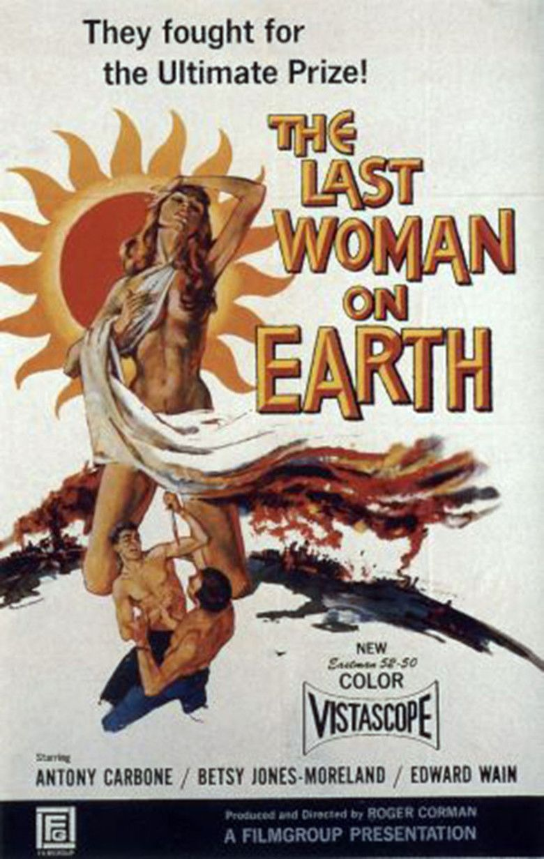 Last Woman on Earth movie poster