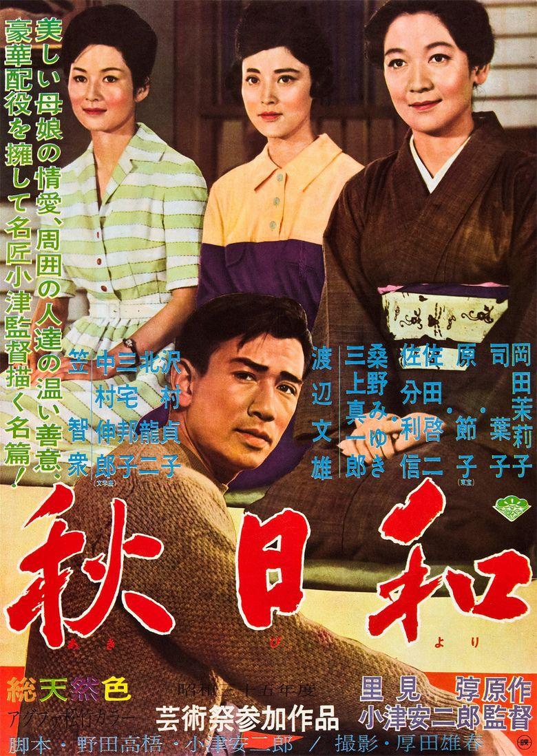 Late Autumn (1960 film) movie poster