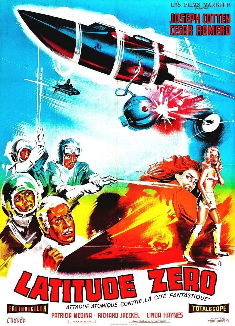 Latitude Zero (film) movie poster