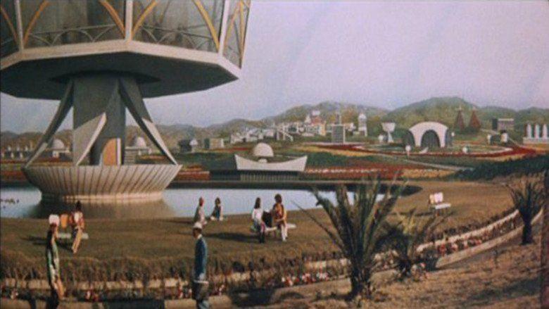 Latitude Zero (film) movie scenes