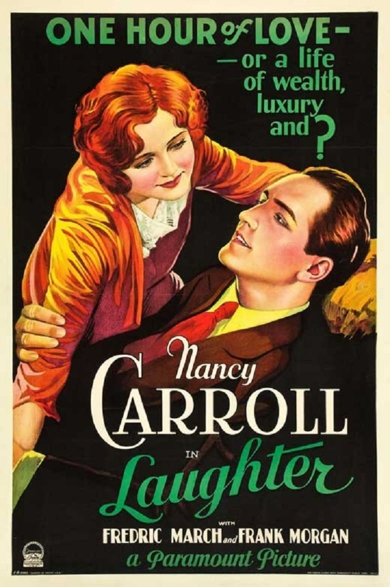 Laughter (film) movie poster