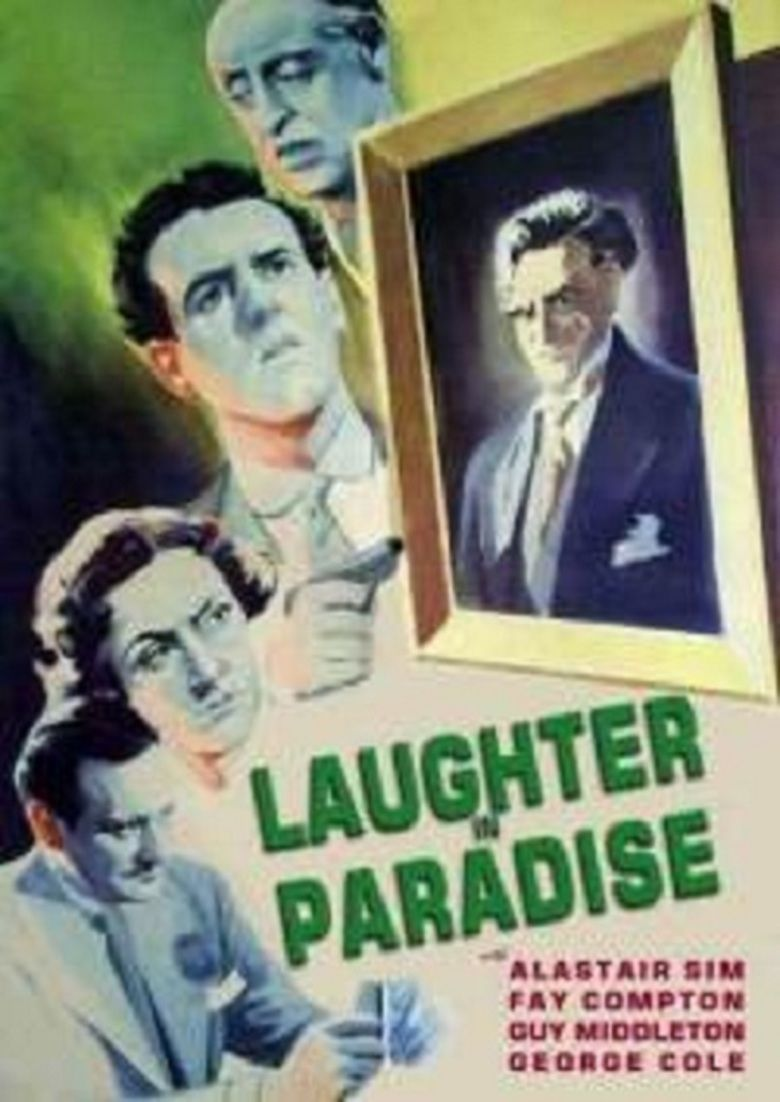 Laughter in Paradise movie poster