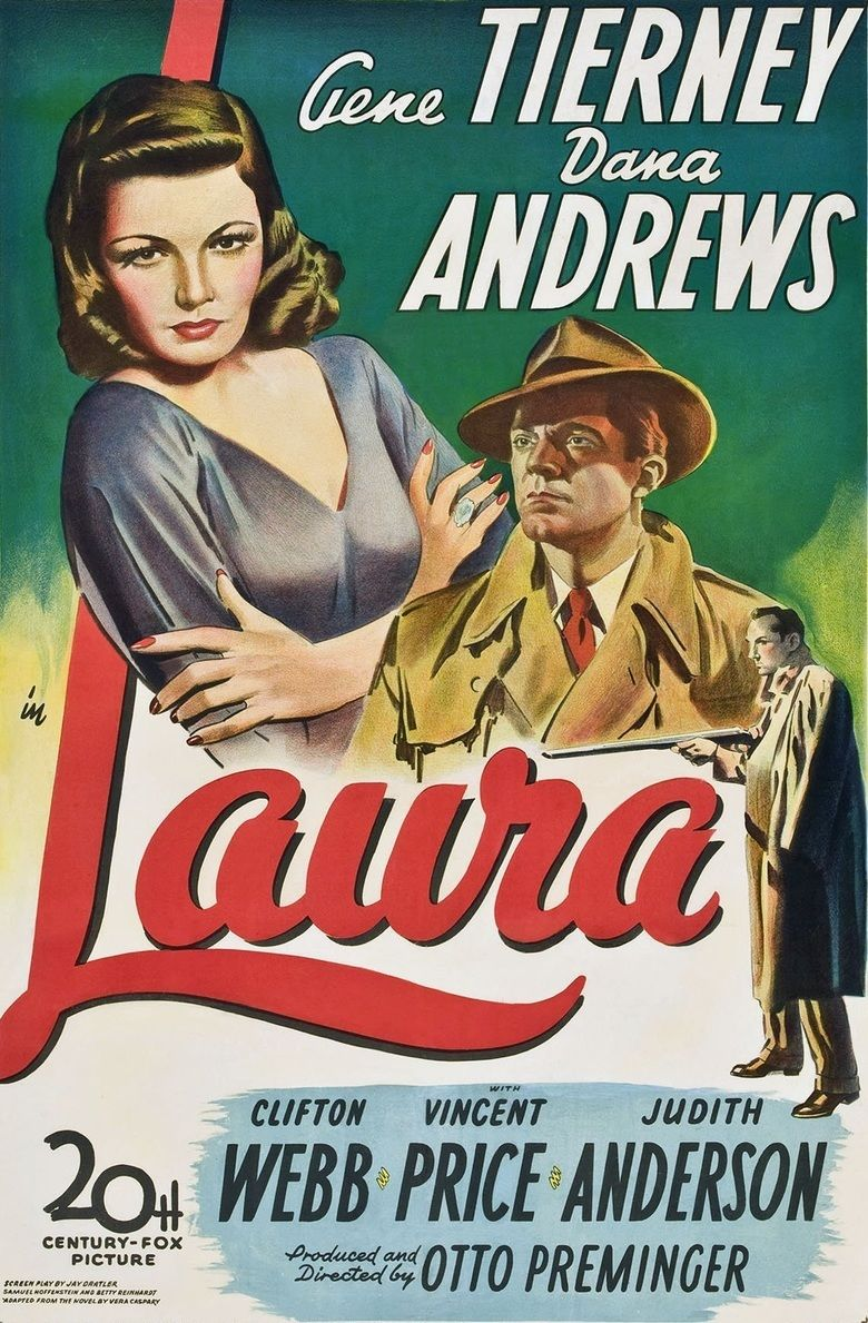 Laura (1944 film) movie poster