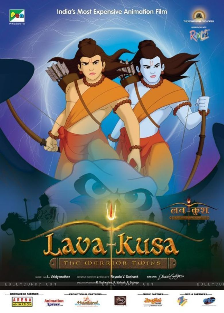 Lava Kusa: The Warrior Twins movie poster