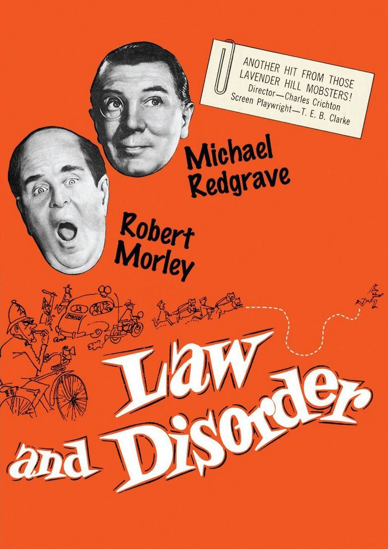 Law and Disorder (1958 film) movie poster