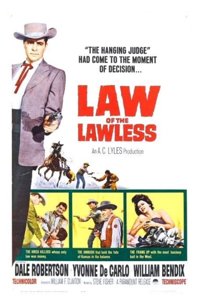 Law of the Lawless (1963 film) movie poster