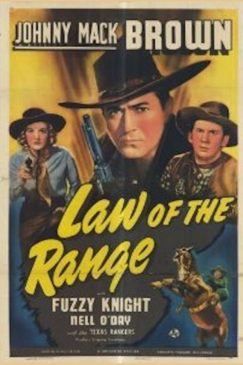 Law of the Range movie poster