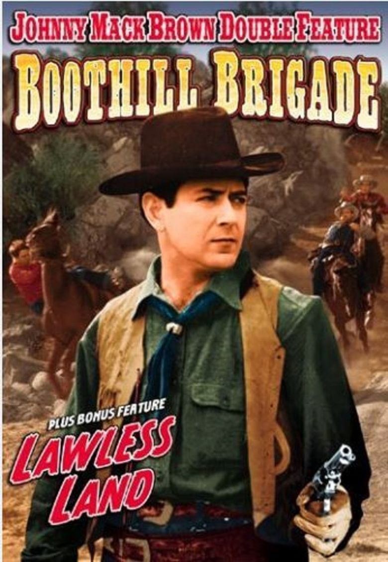 Lawless Land movie poster