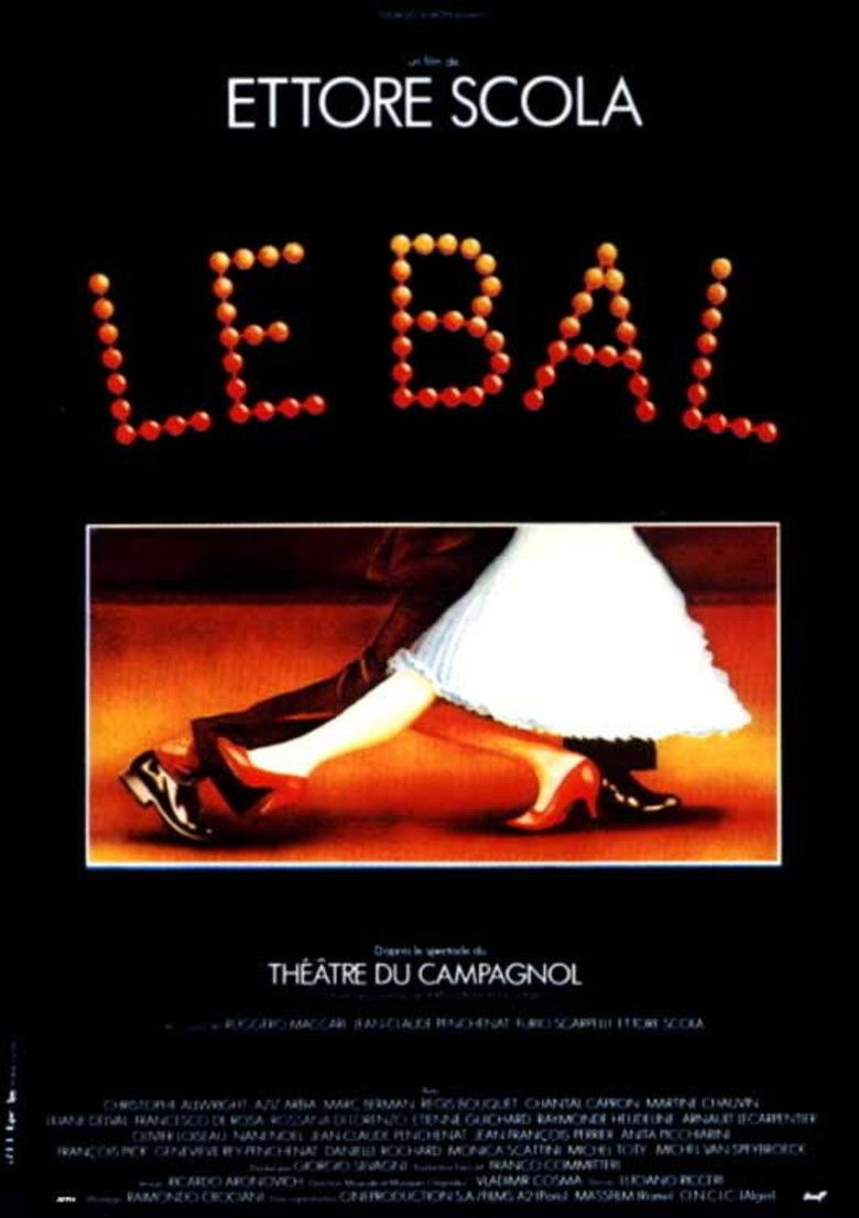 Le Bal (film) movie poster