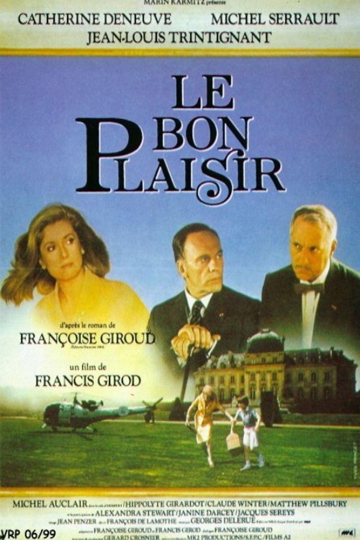 Le Bon Plaisir movie poster