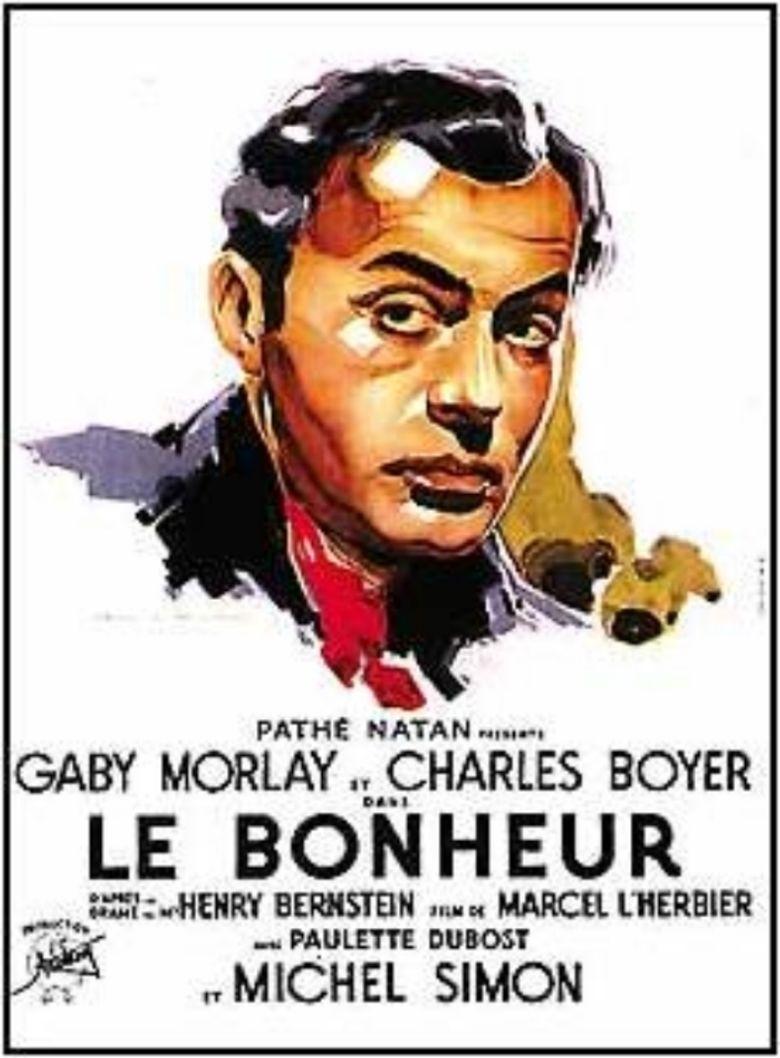 Le Bonheur (1934 film) movie poster