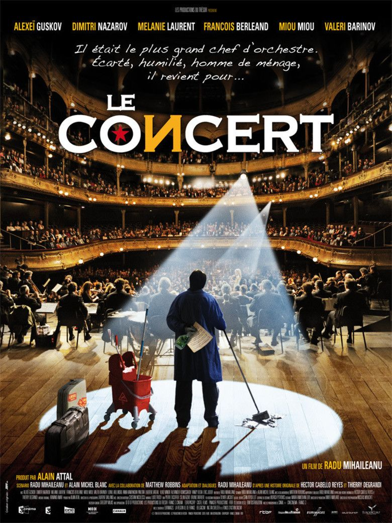 Le Concert movie poster