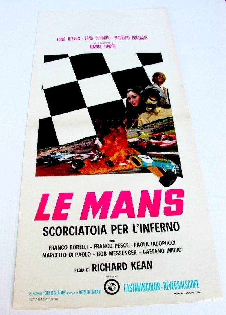 Le Mans, Shortcut to Hell movie poster