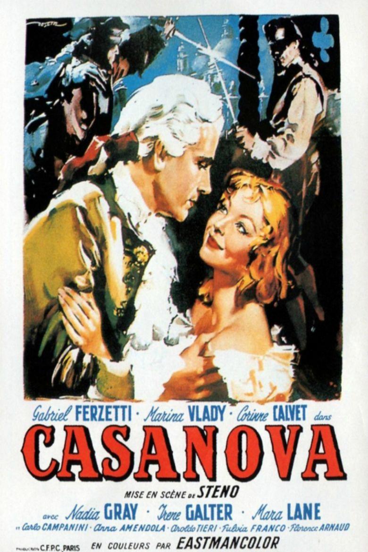 Le avventure di Giacomo Casanova movie poster