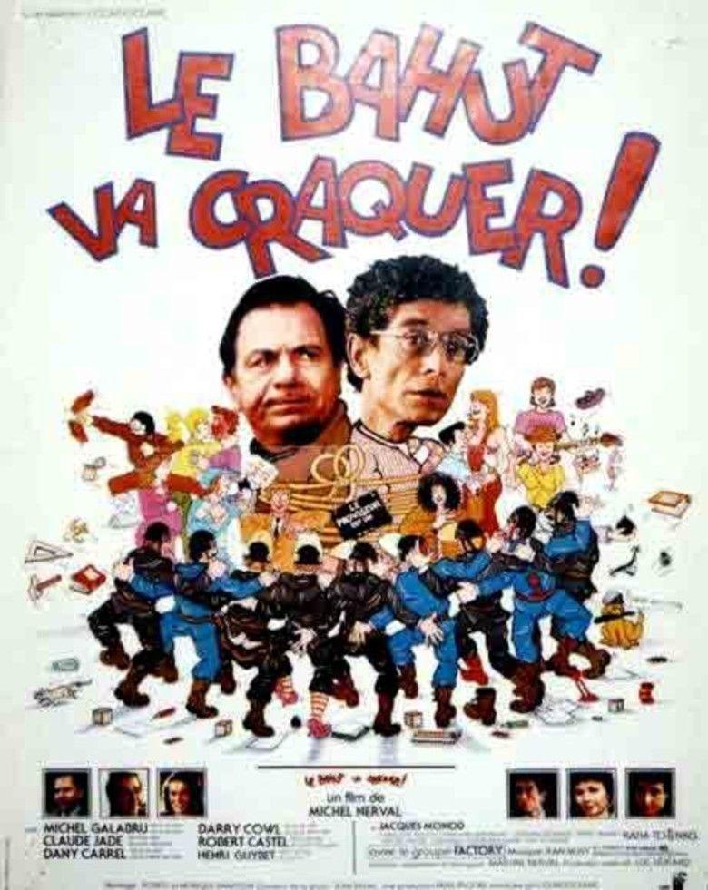 Le bahut va craquer movie poster