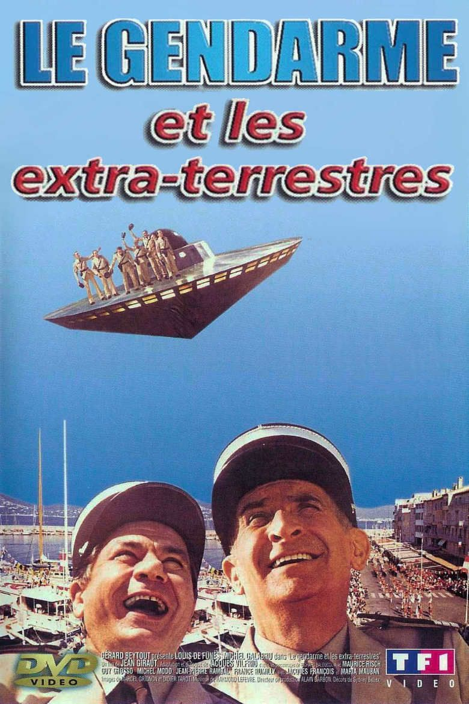 Le gendarme et les extra terrestres movie poster