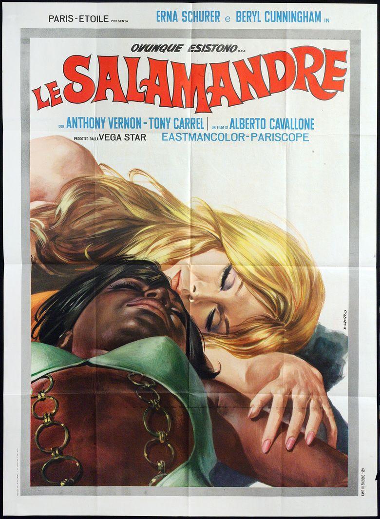 Le salamandre movie poster