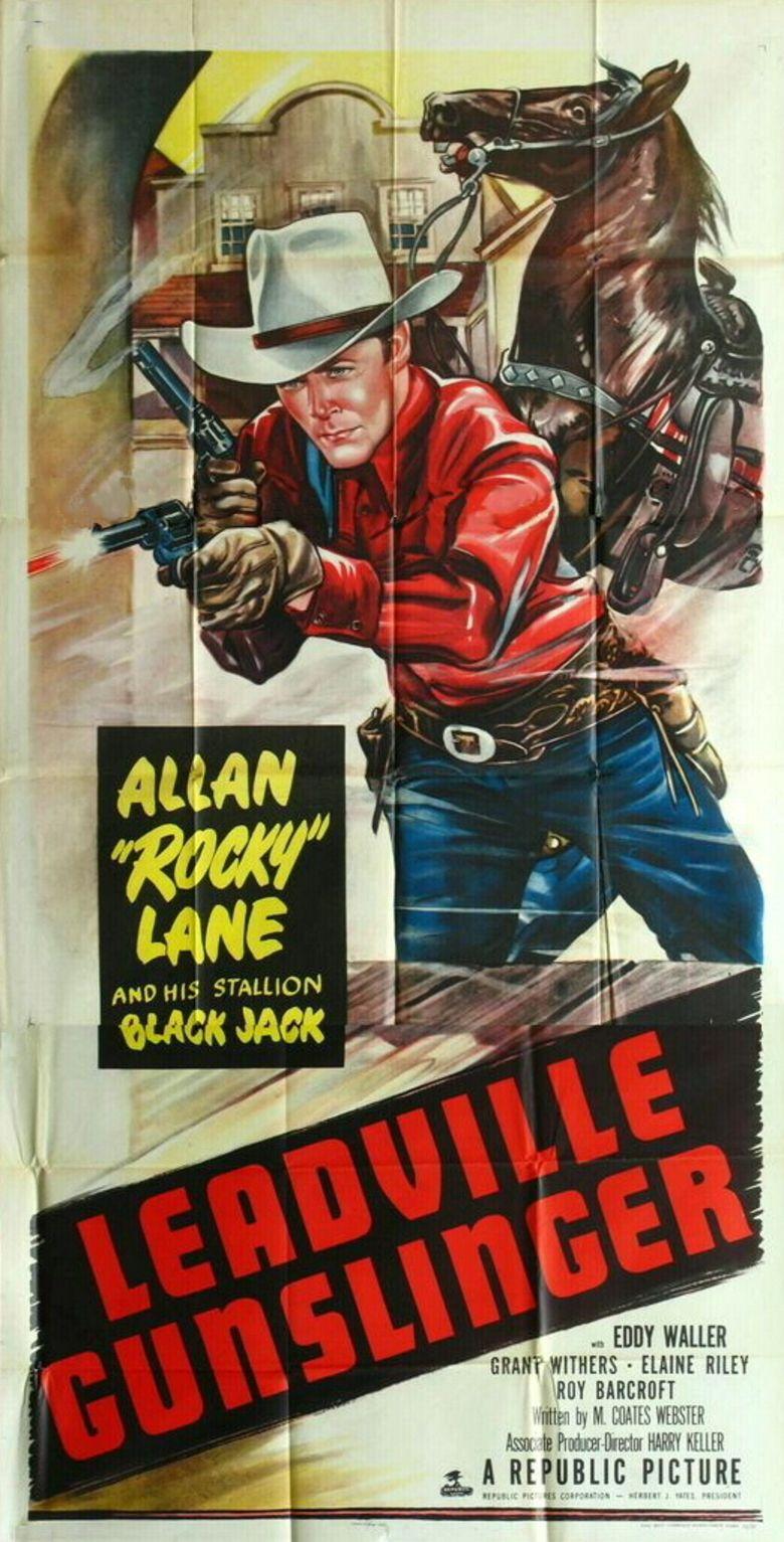 Leadville Gunslinger movie poster