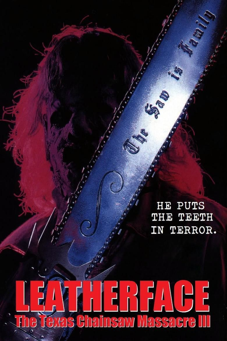 Leatherface: The Texas Chainsaw Massacre III movie poster