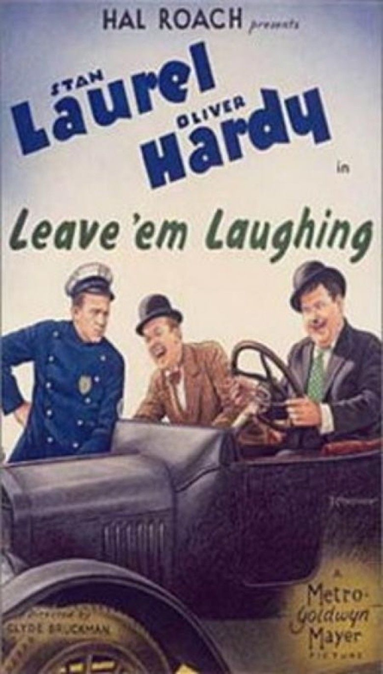 Leave Em Laughing movie poster