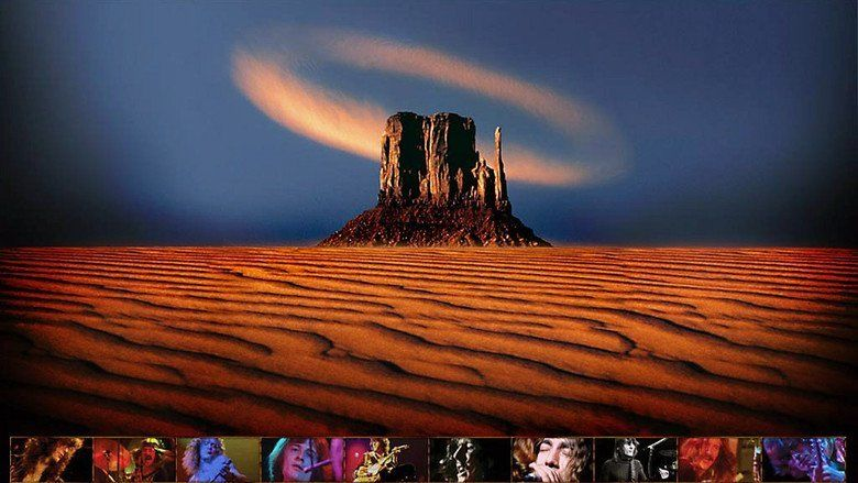 Led Zeppelin DVD movie scenes