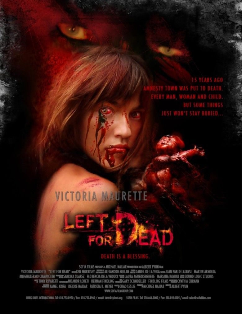 Left for Dead (2007 Western film) movie poster