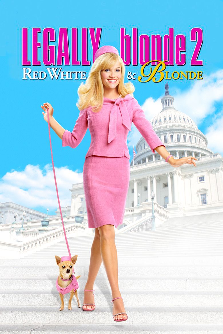 Legally Blonde 2: Red, White and Blonde movie poster