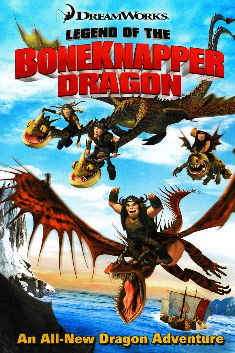 Legend of the Boneknapper Dragon movie poster