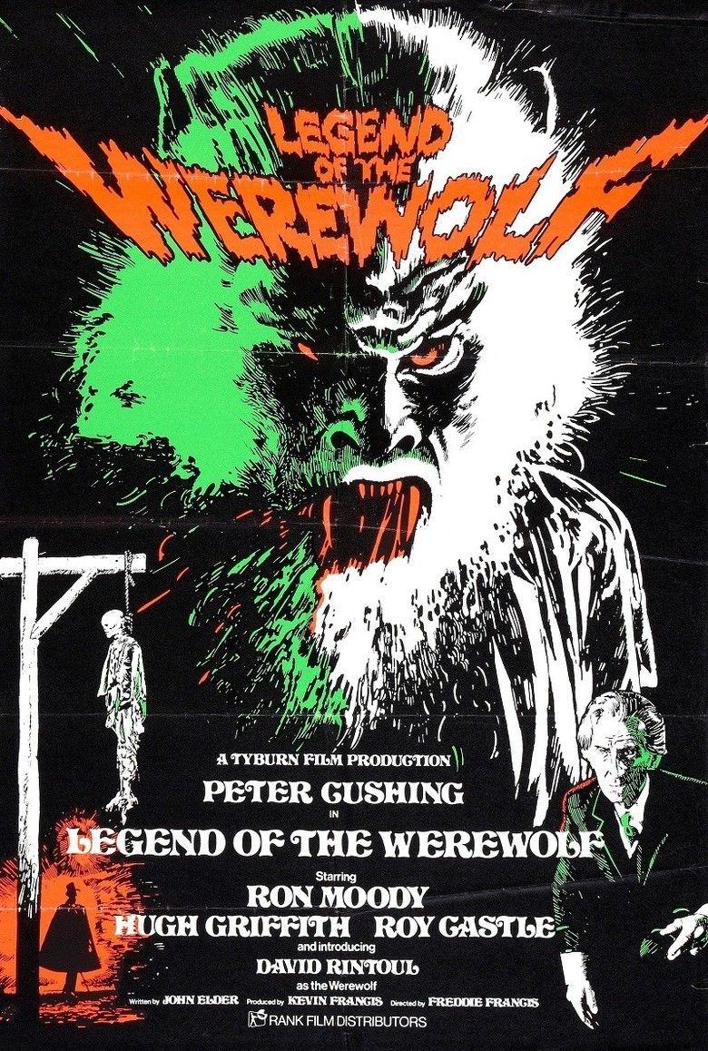 Legend of the Werewolf movie poster