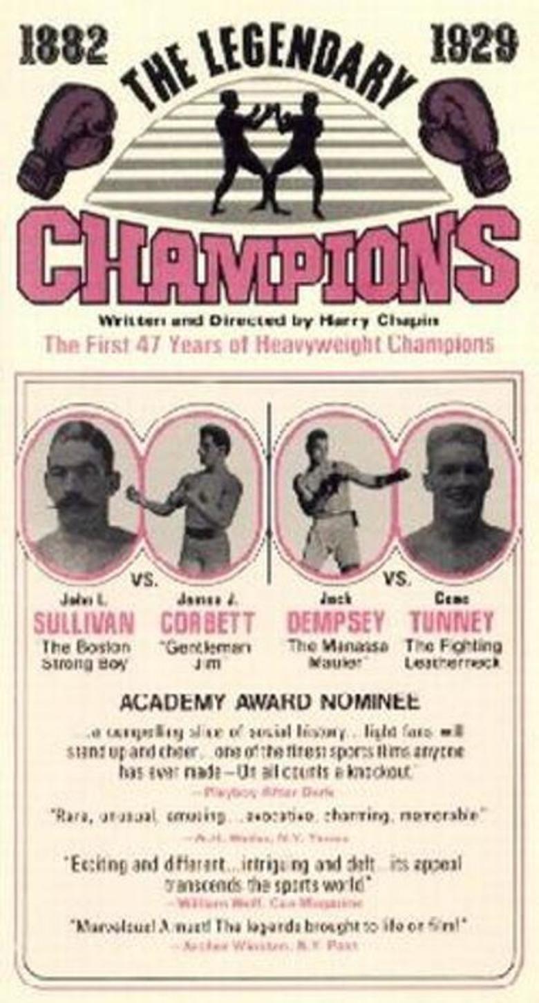 Legendary Champions movie poster
