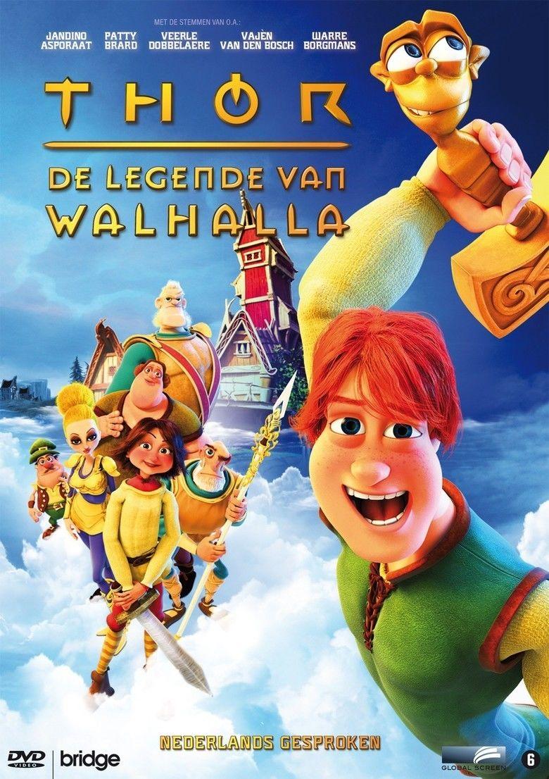Legends of Valhalla: Thor movie poster