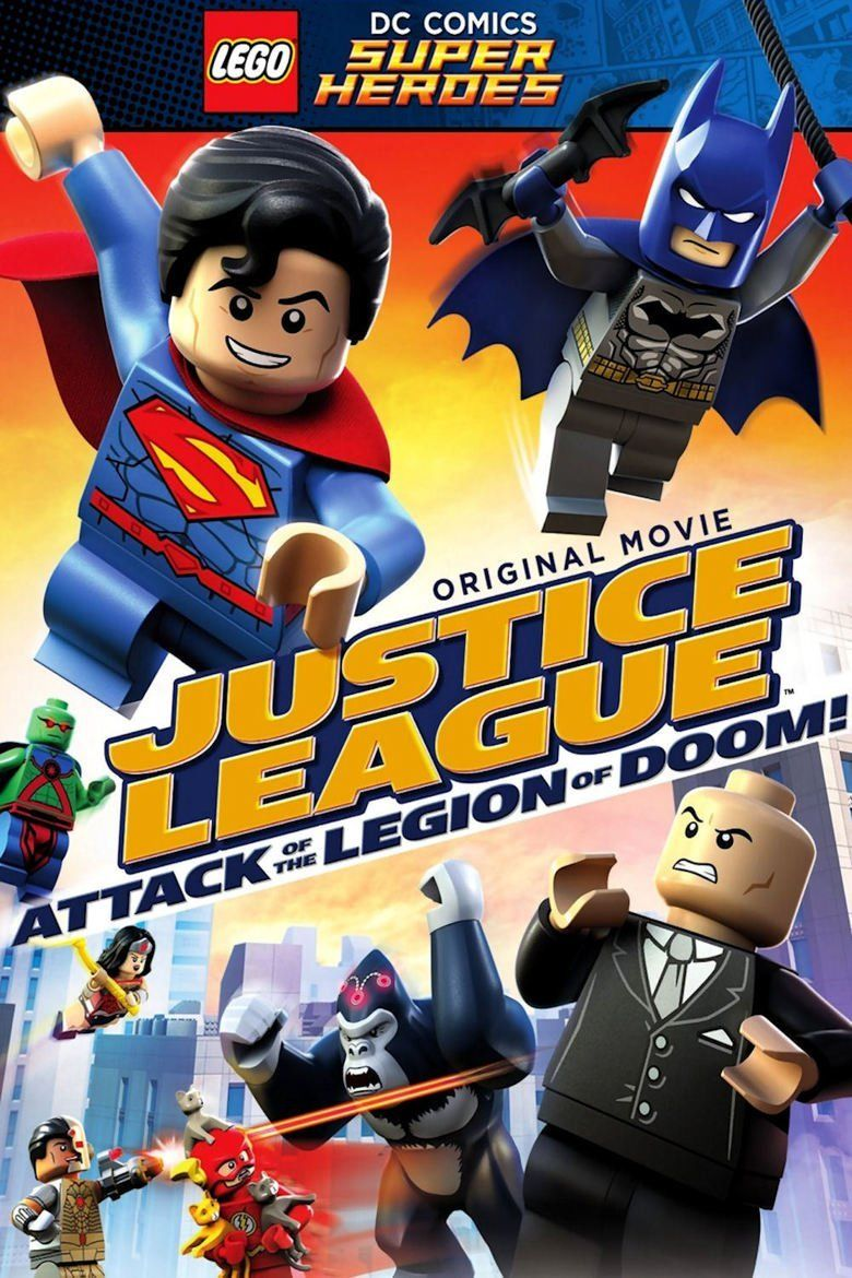 Lego DC Comics Super Heroes: Justice League: Attack of the Legion of Doom movie poster