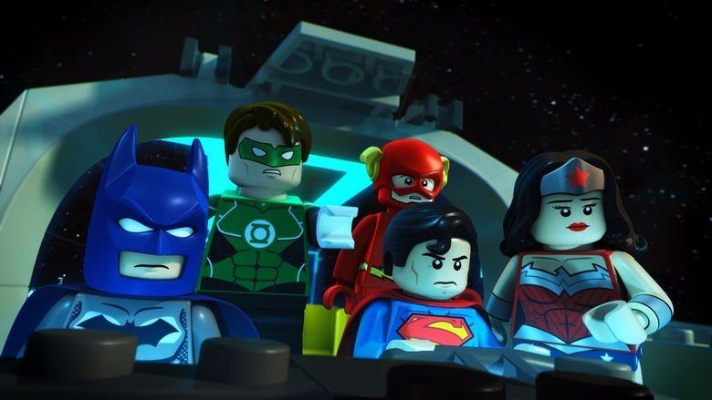 Lego DC Comics Super Heroes: Justice League: Attack of the Legion of Doom movie scenes
