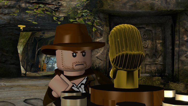 Lego Indiana Jones and the Raiders of the Lost Brick movie scenes