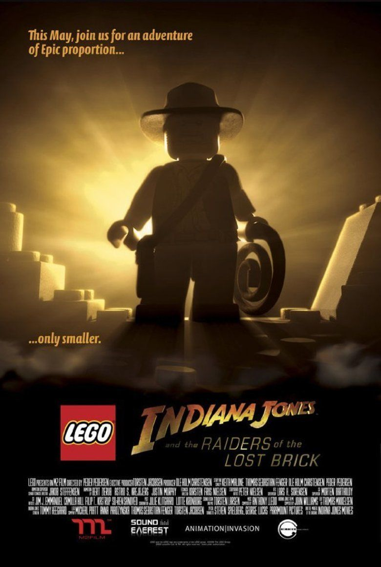 Lego Indiana Jones and the Raiders of the Lost Brick movie poster