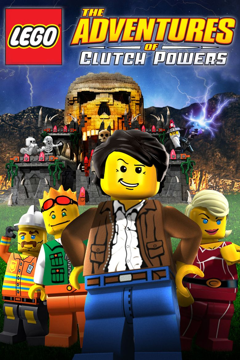 Lego: The Adventures of Clutch Powers movie poster
