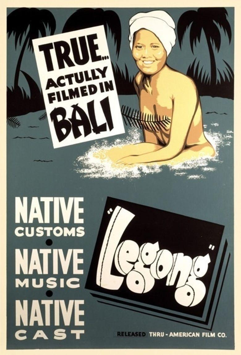 Legong (film) movie poster