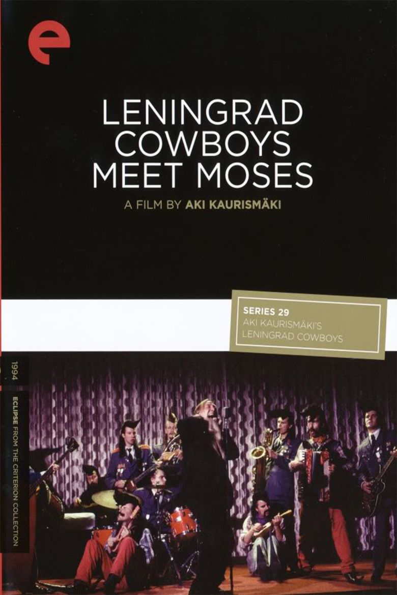 Leningrad Cowboys Meet Moses movie poster