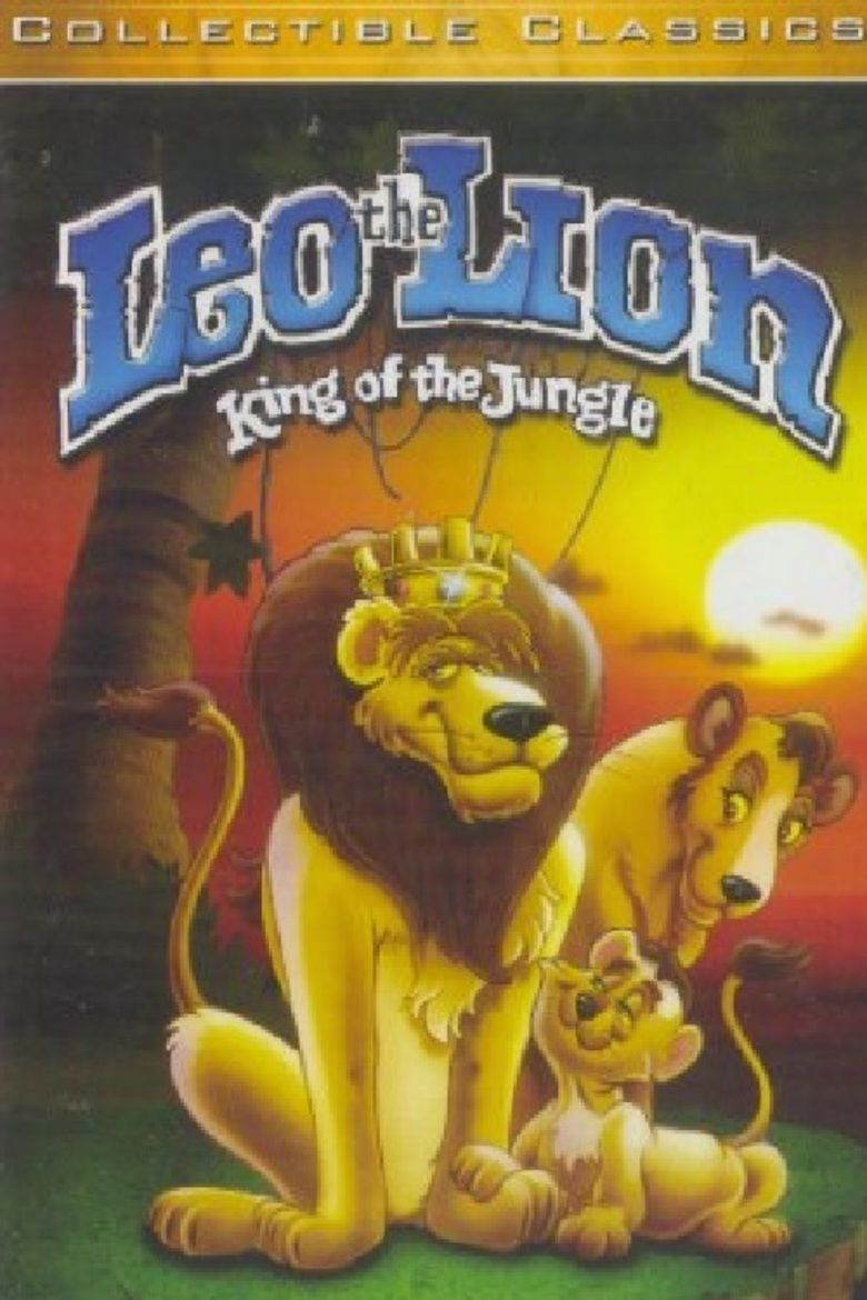 Leo the Lion: King of the Jungle movie poster