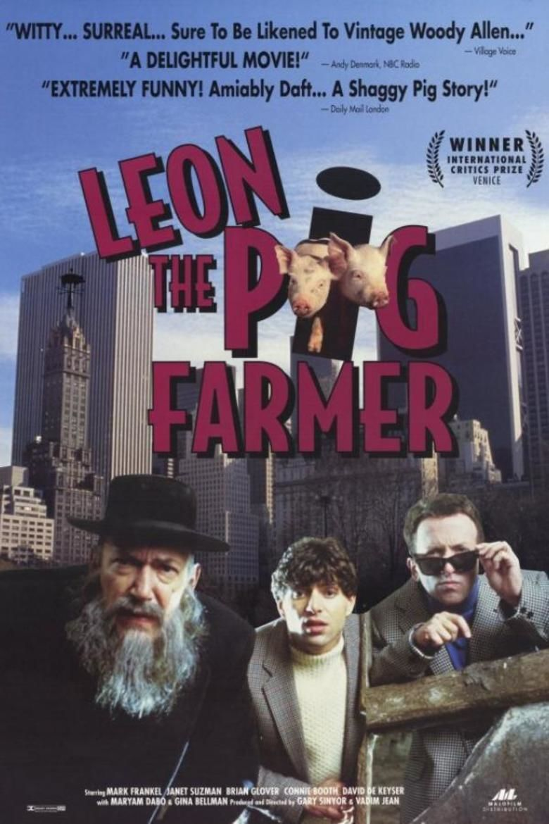 Leon the Pig Farmer movie poster
