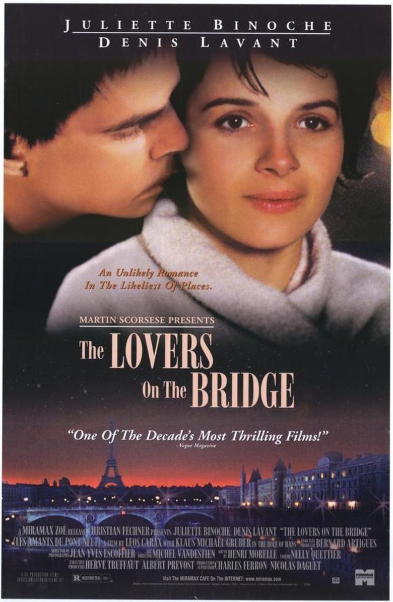 Les Amants du Pont Neuf movie poster