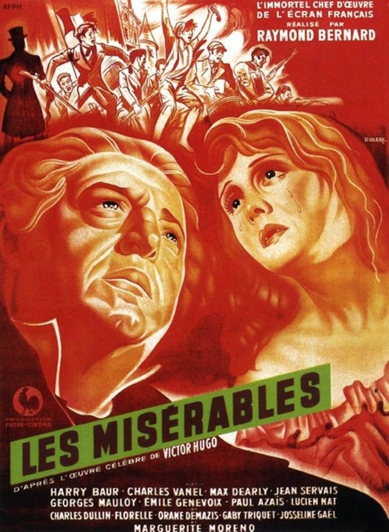 Les Miserables (1934 film) movie poster