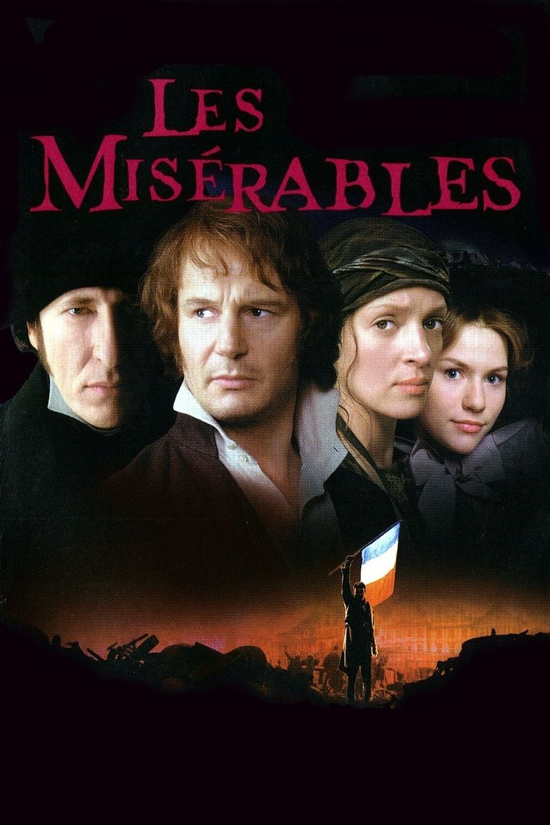 les miserables film the social encyclopedia les miserables 1998 film movie poster