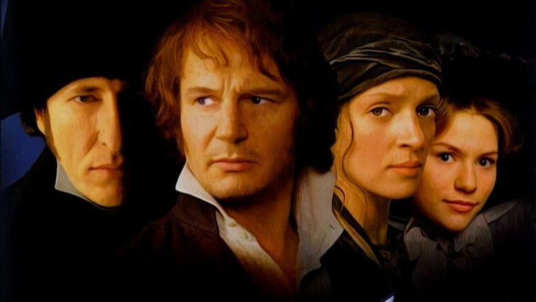 Les Miserables (1998 film) movie scenes
