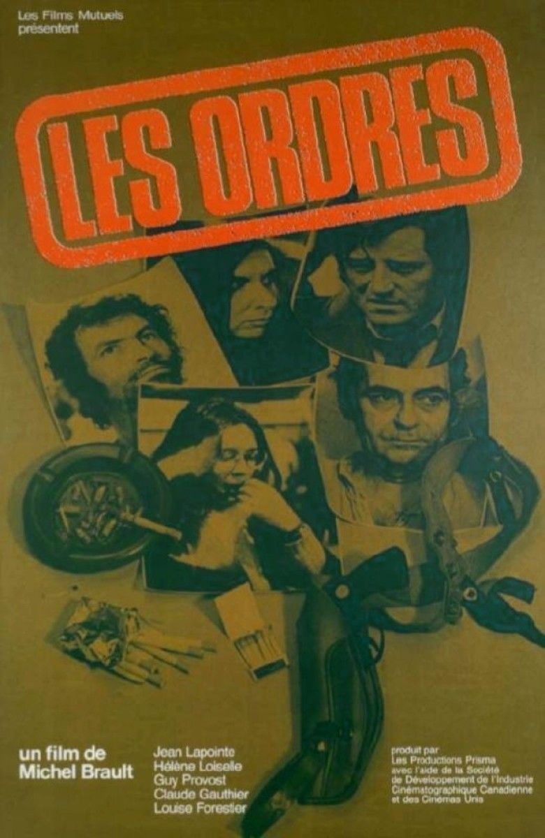 Les Ordres movie poster