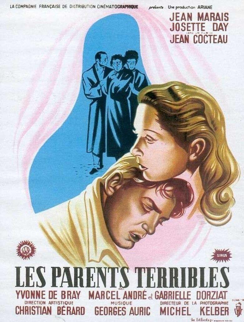 Les Parents terribles (film) movie poster