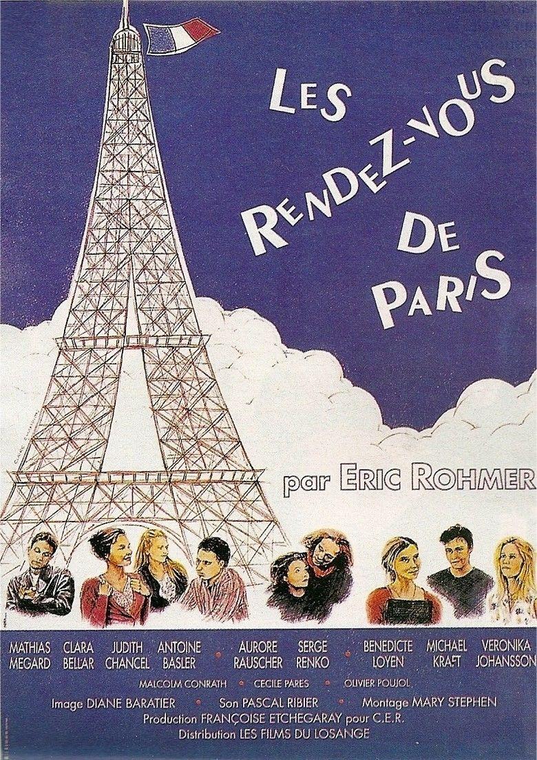 Les Rendez vous de Paris movie poster